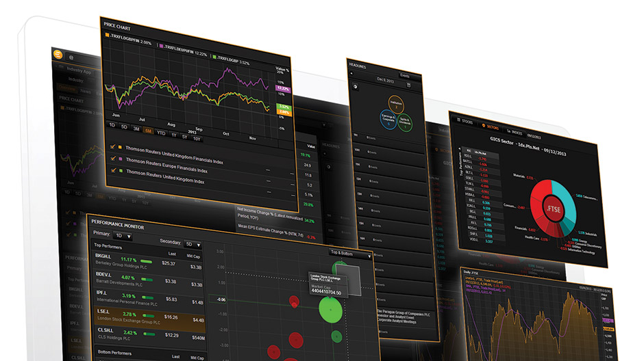 Eikon desktop screens
